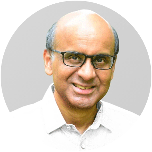 Mr Tharman Shanmugaratnam 尚达曼先生